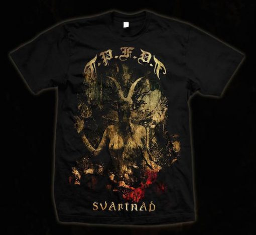 Svartnad t-shirt